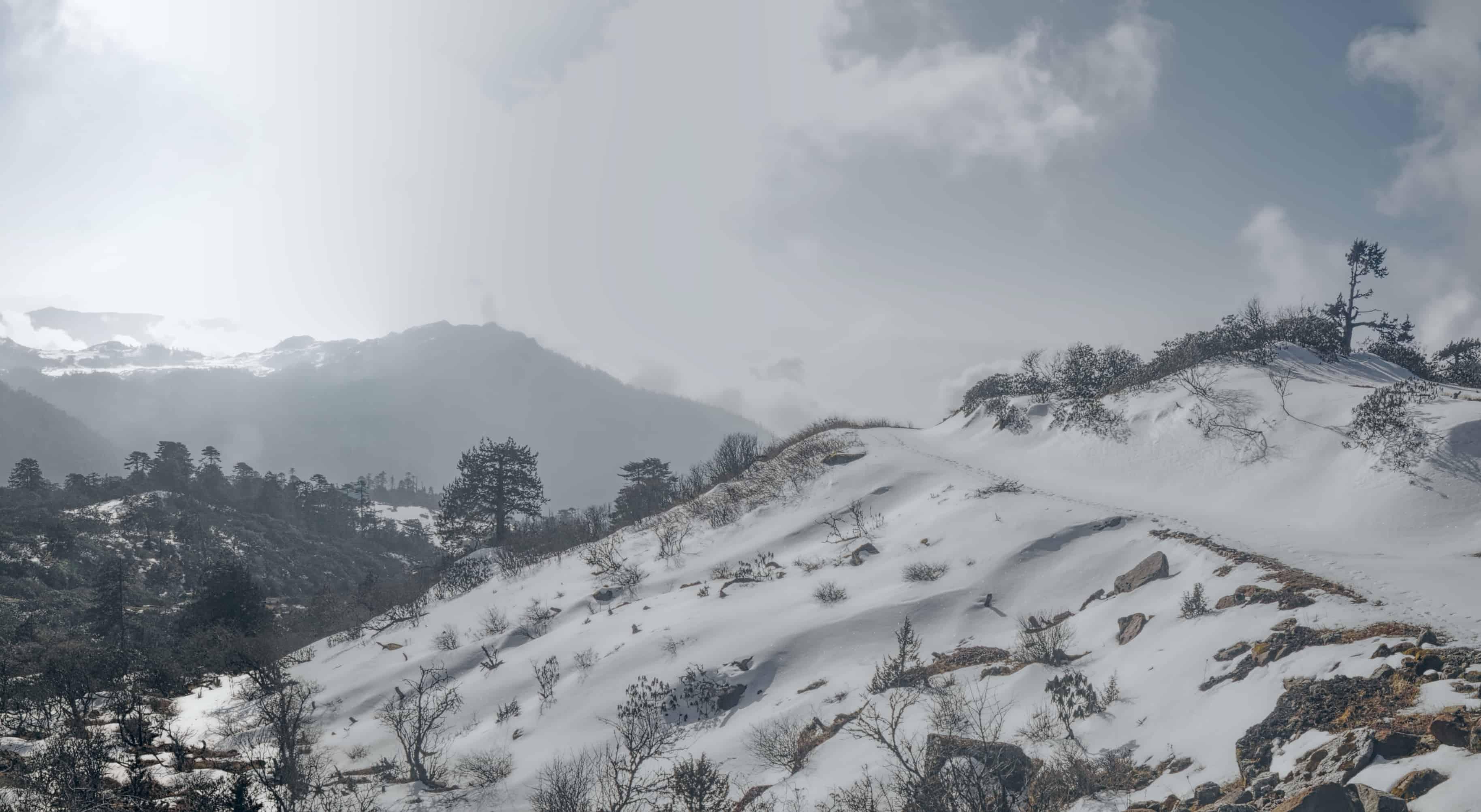 Arunachal Pradesh Snowfall