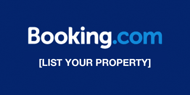 Booking.com Join List Your Property