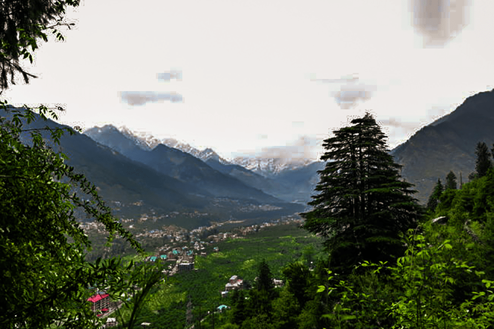 Prini Village To Banara Temple Manali