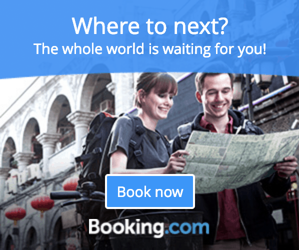 Booking.com Sidebar Ad Banner