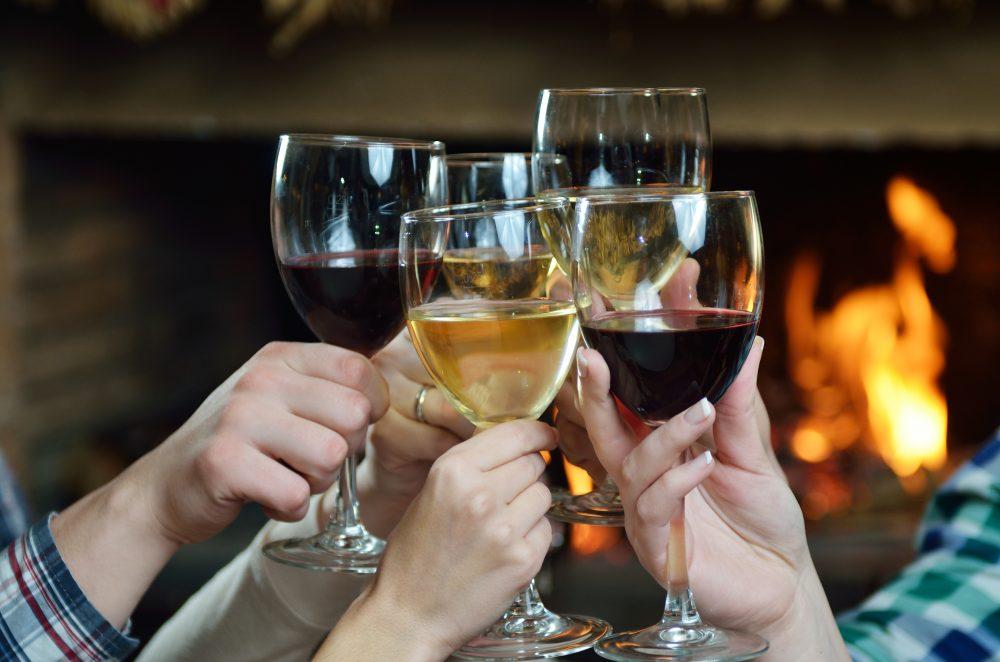 Drinking Tasting Wine