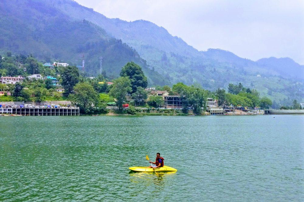 Enjoy Boating And Paragliding In Bhimtal Mukteshwar