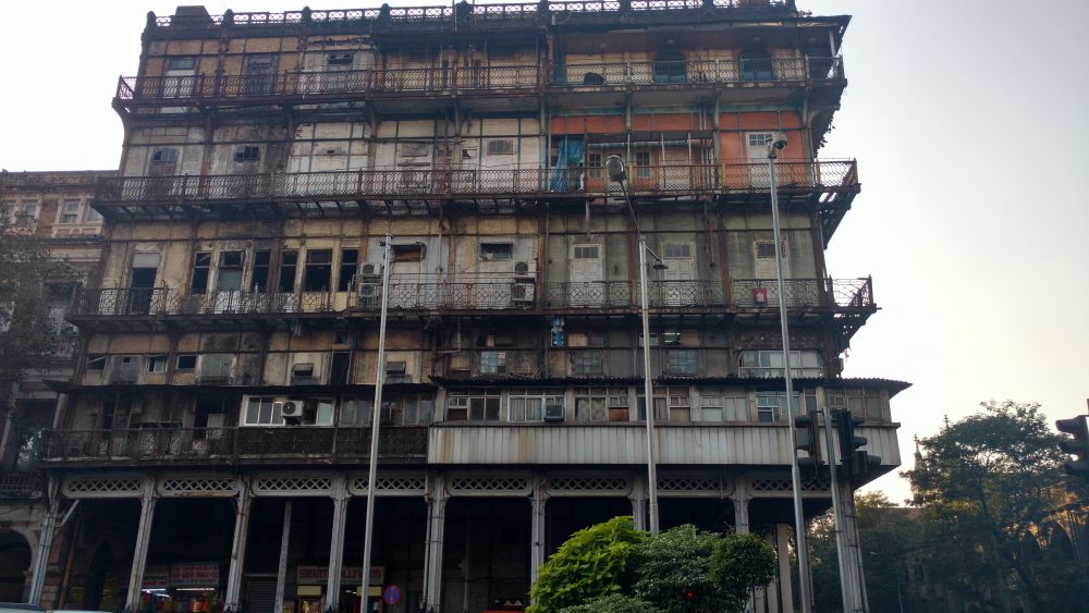 Esplanade Mansion Watson's Hotel India Steel Building Mumbai Bombay