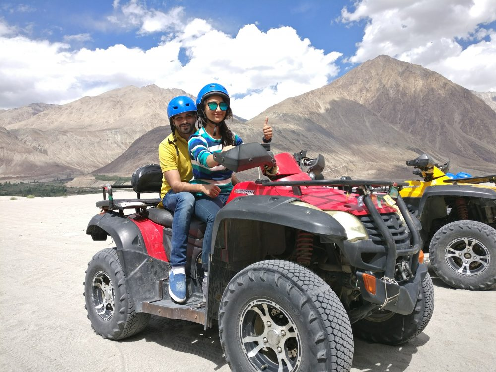 Highest ATV Ride In The World Leh Ladakh