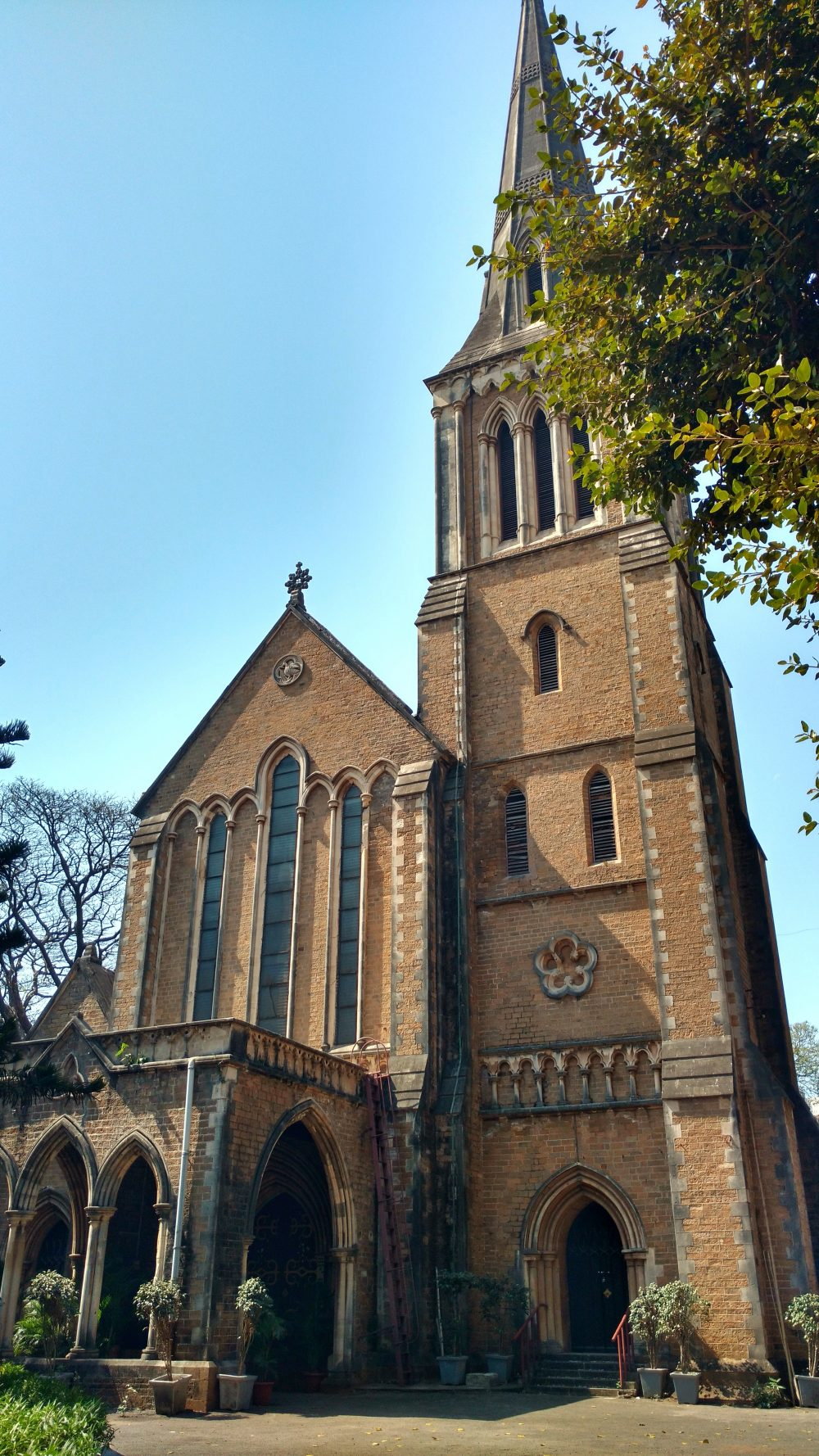 India's First Gothic Church Afghan Church Bombay Mumbai