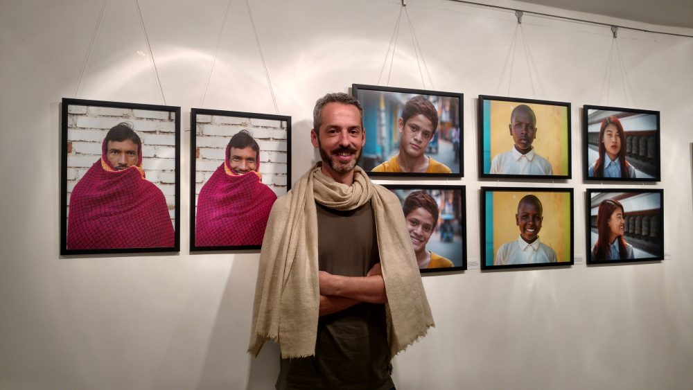 Jay Weinstein Photographer Smile Project Jehangir Art Gallery