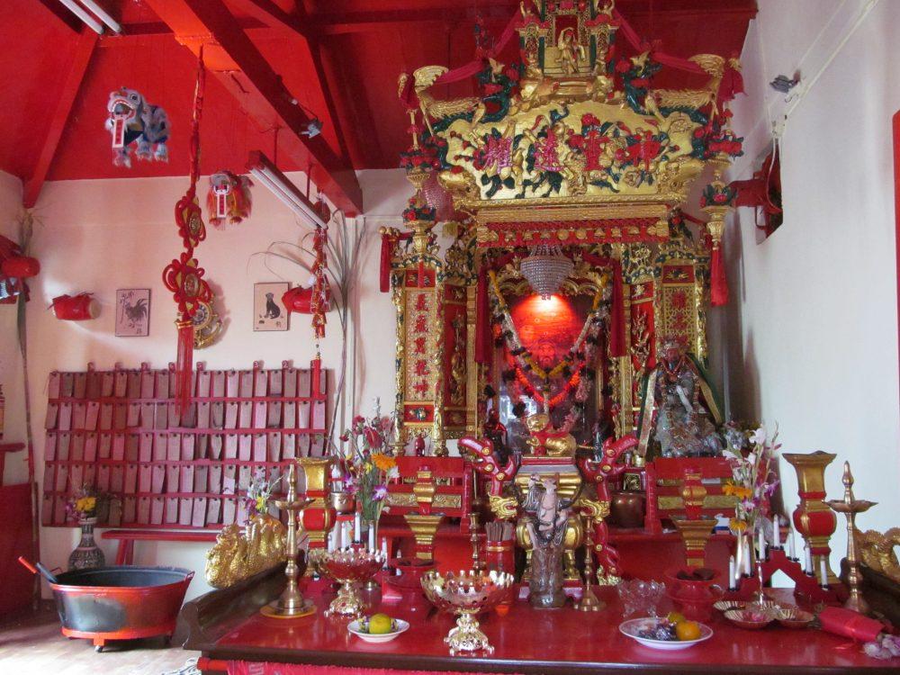 Kwan Kung Chinese Temple Mumbai Bombay