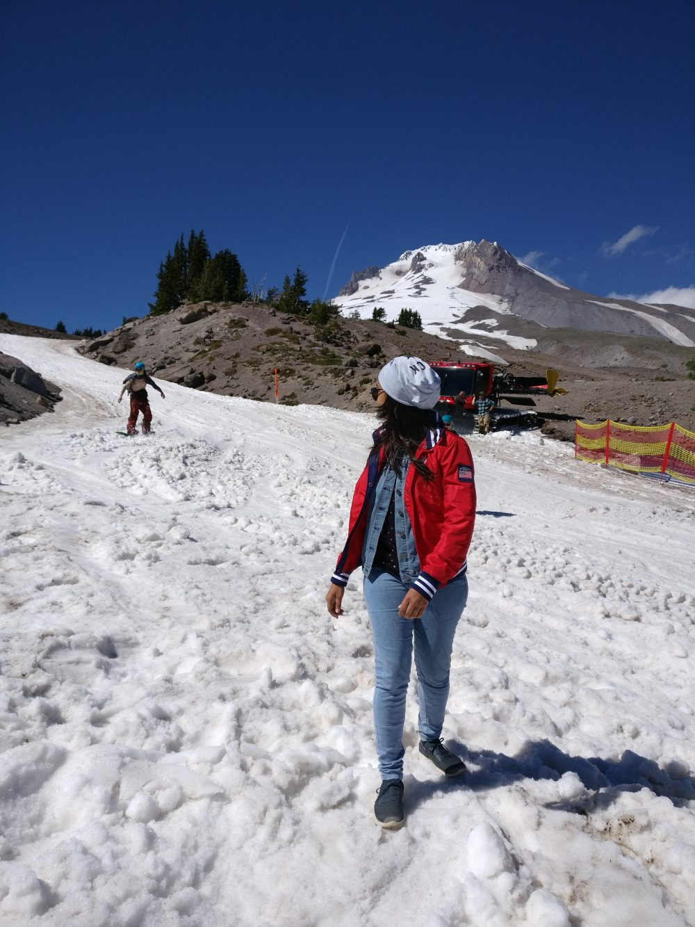Mt Mount Hood Oregon Snow