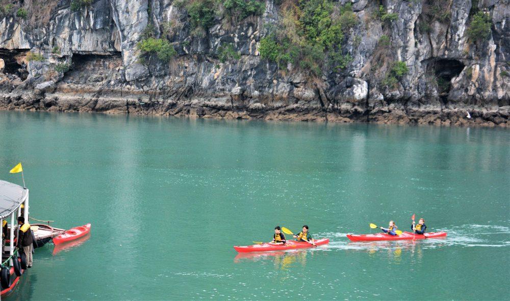 The Dragon Legend Cruise Activities Kayaking