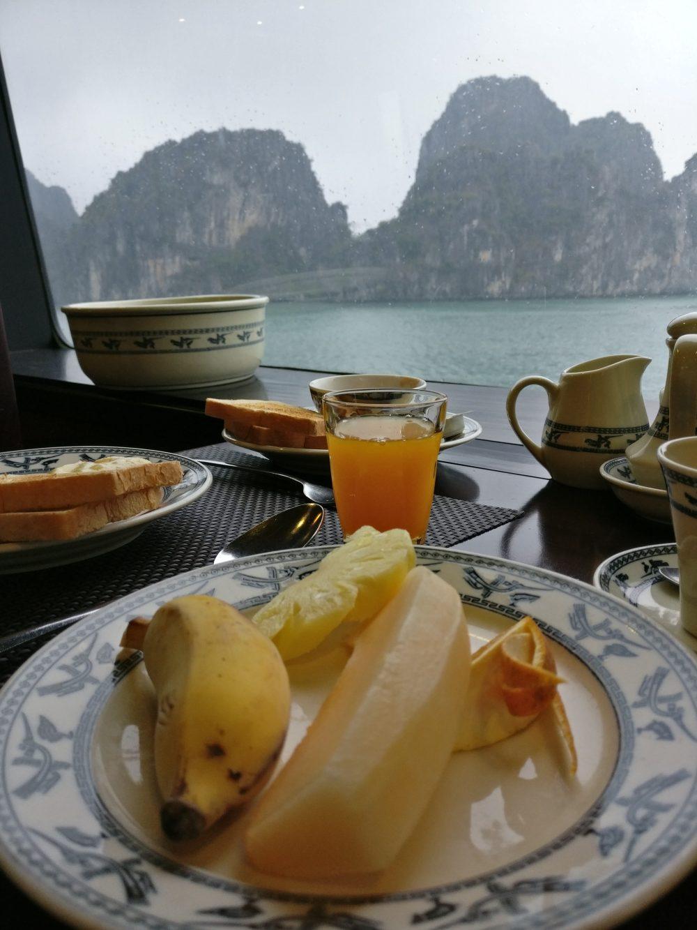 The Dragon Legend Cruise Food 1