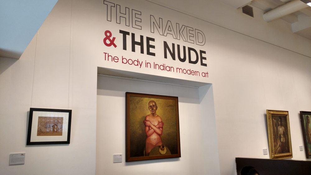 The Naked And The Nude Indian Modern Art