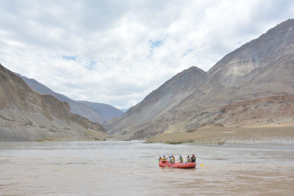 Zanskar River Rafting Leh Ladakh