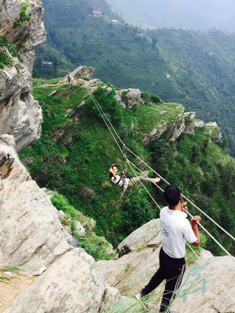Zipline Outdoor Activites Mukteshwar 2