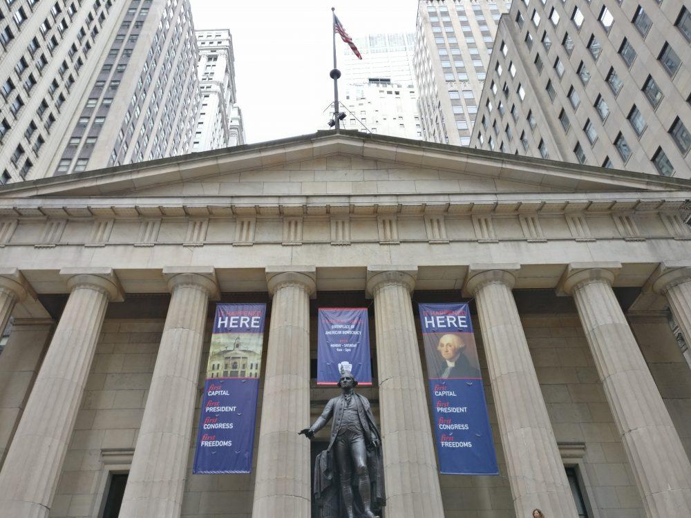 Federal Hall New York City NYC