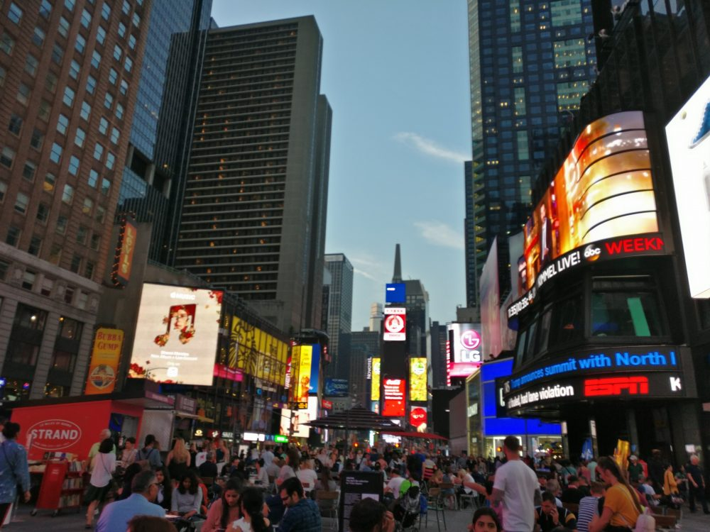 Times Square And Broadway 1