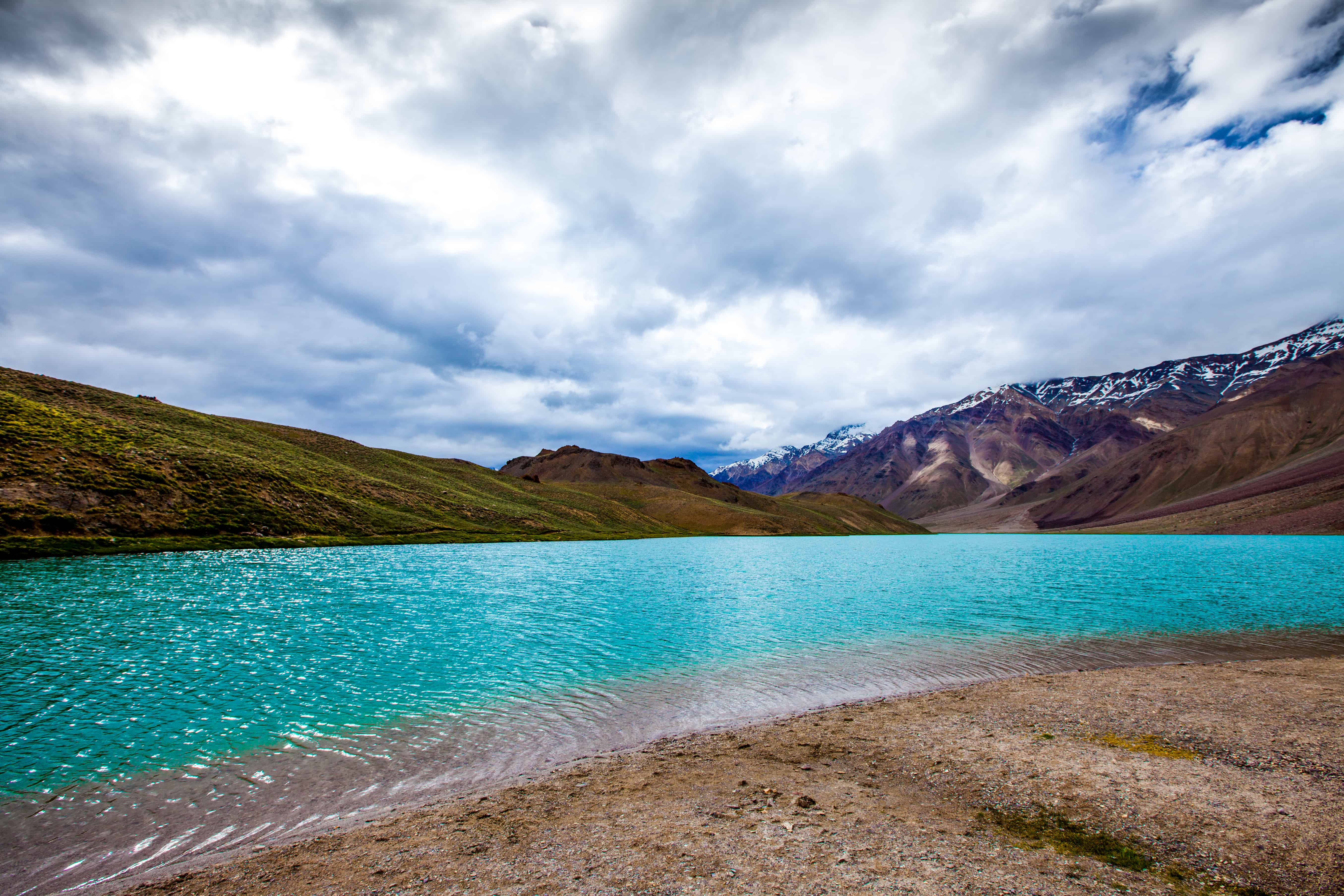 Chandratal Lake Spiti Valley Lahul And Spiti Himachal Pradesh (India)