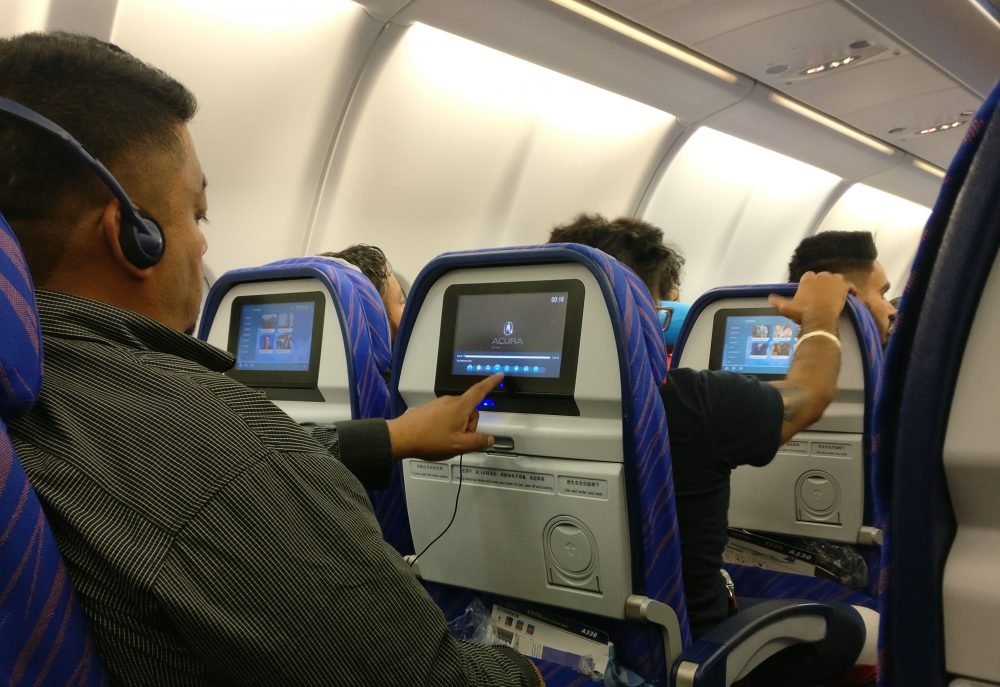 China Southern Airlines In Flight Entertainment (IFE)