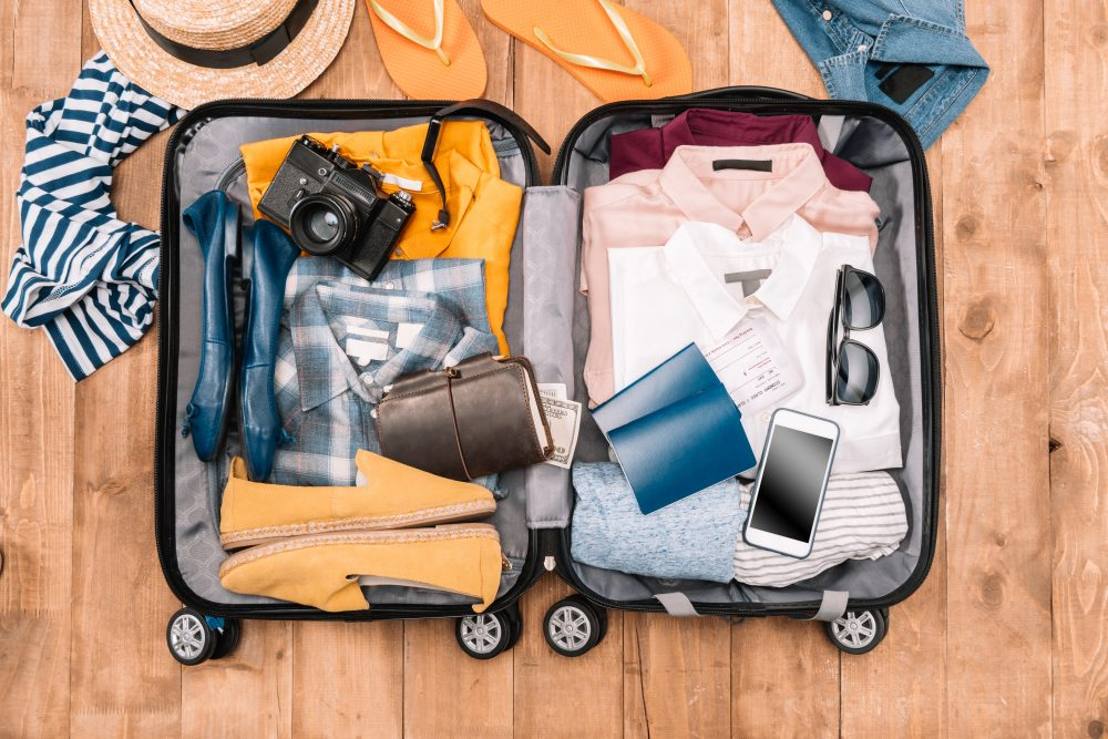 Start Packing In A Smaller Suitcase Travel Hacks Pack Light