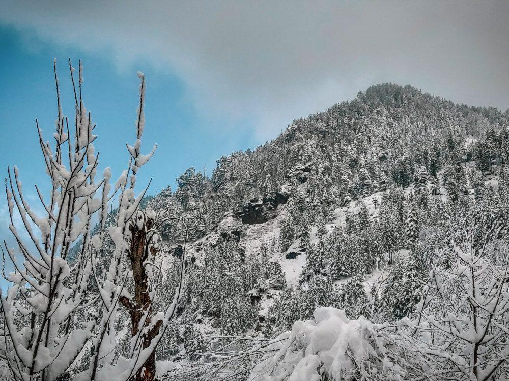Stay Aware Snow Risky Winter