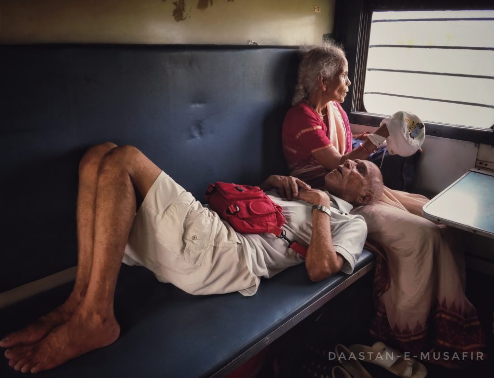 Take A Long, Long, Or Possibly The Longest Train Journey ~ In A Sleeper Class