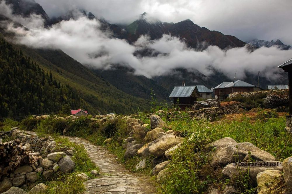 A Silent Walk In The Chitkul Village