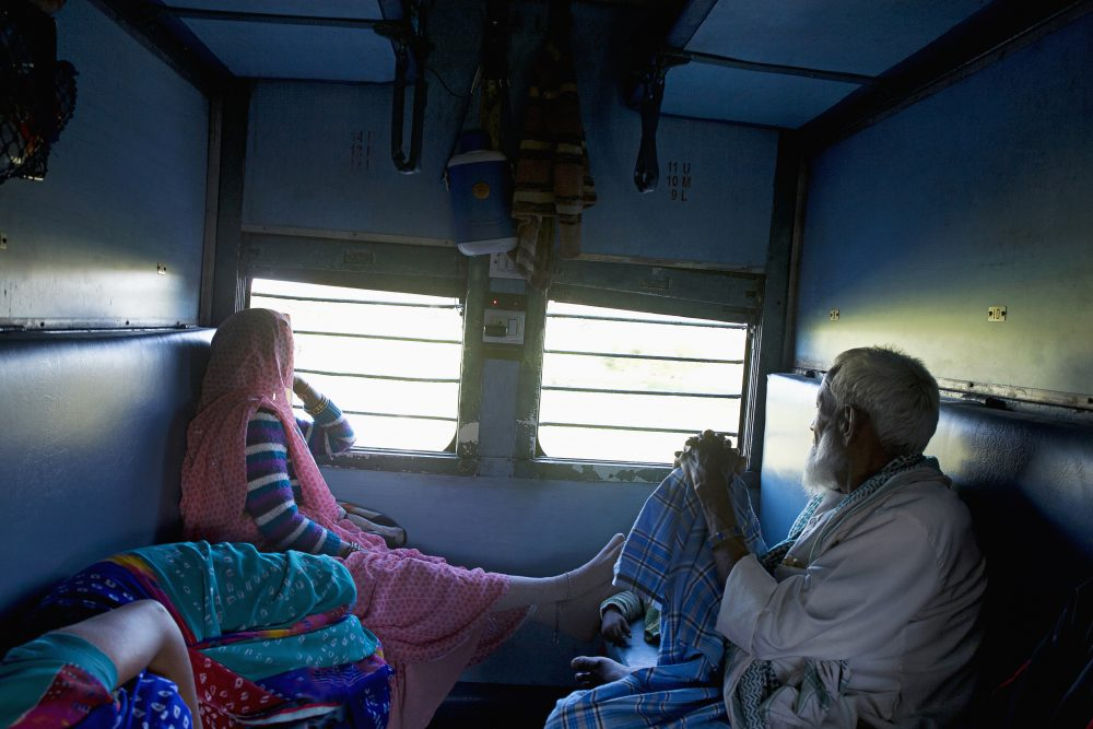 Indian Train Railways Inside Compartment