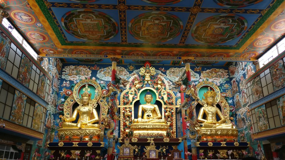 Tibetian Temple South India