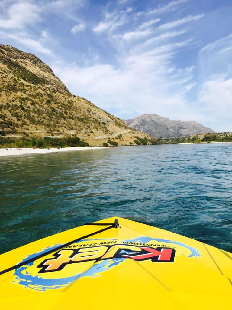 Jet Boat Ride Kjet Queenstown New Zealand