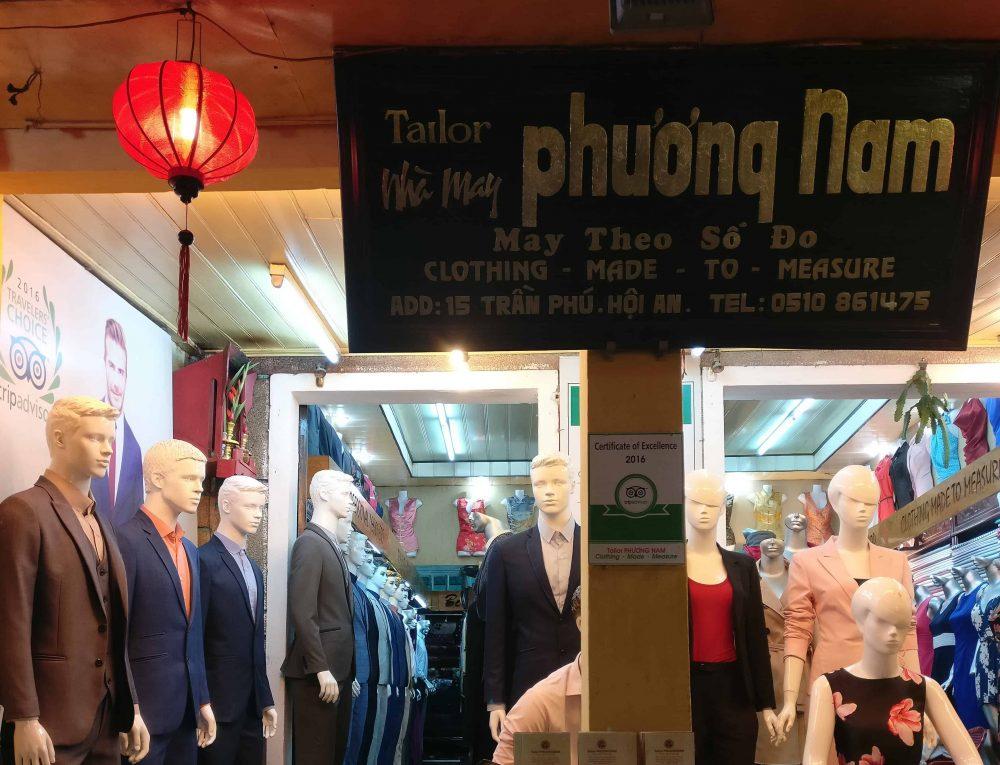 Tailor Phuong Nam Wardrobe Vietnam