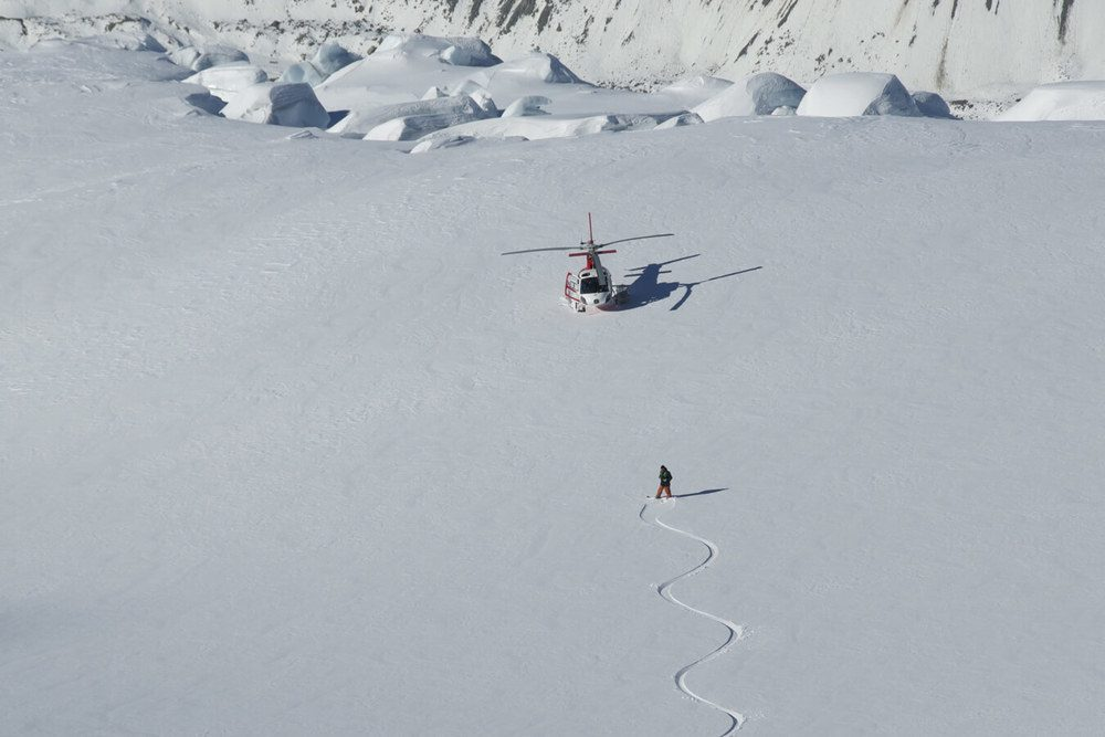 Heliskiing New Zealand NZ 2