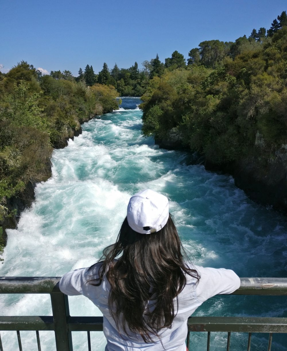 Huka Falls New Zealand NZ
