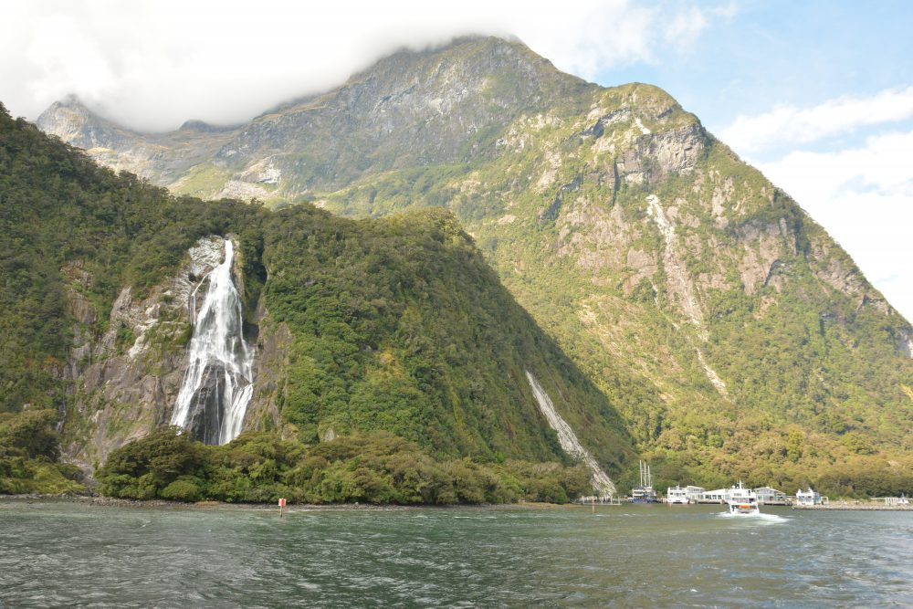 Milford Sound Cruise New Zealand NZ