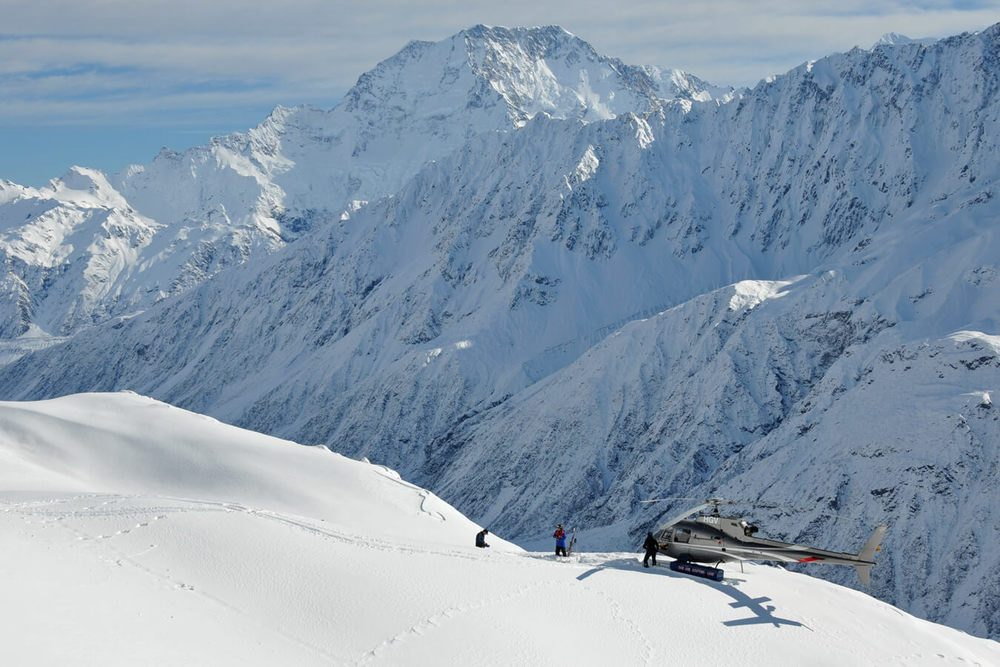 Mount Cook Heliski Heliskiing New Zealand NZ