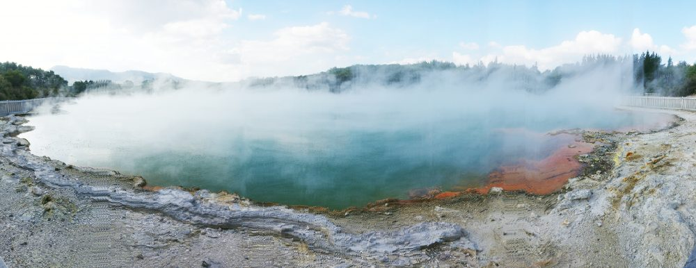 New Zealand Geothermal Activity