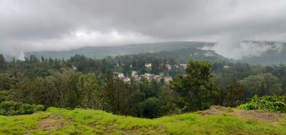 Panoramic View Of Panchgani From Tableland