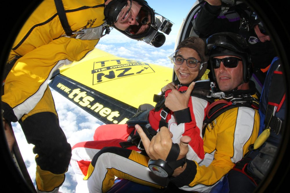 Skydiving In New Zealand 1