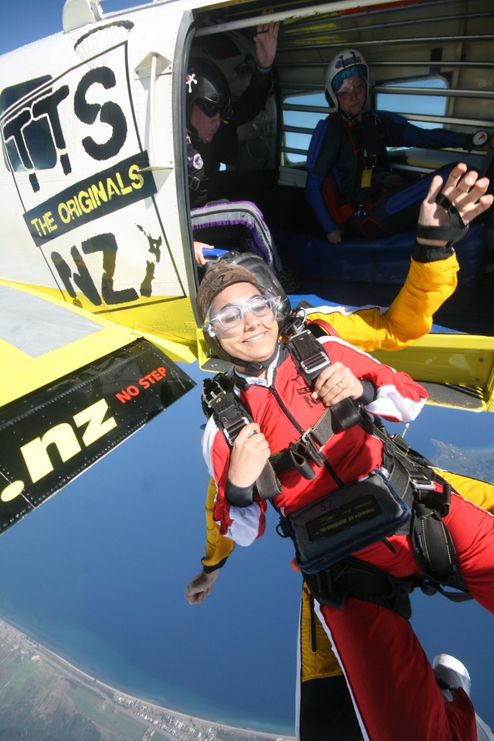 Skydiving In New Zealand 2