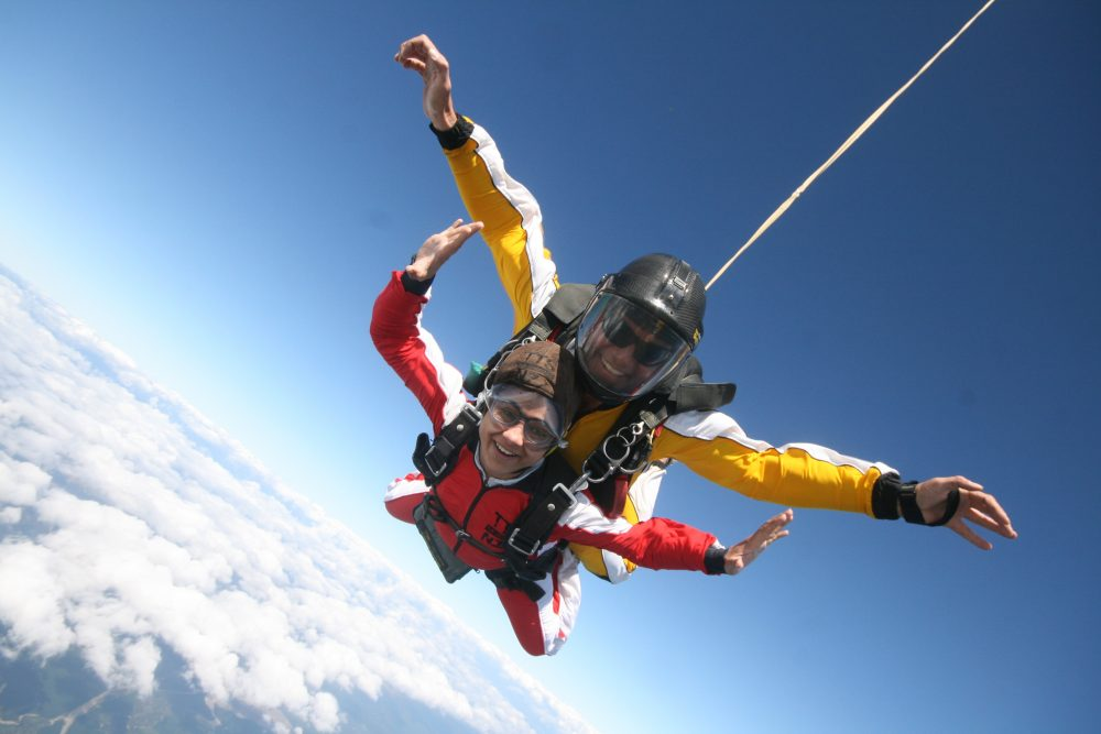 Tandem Skydiving Lake Taupo New Zealand NZ