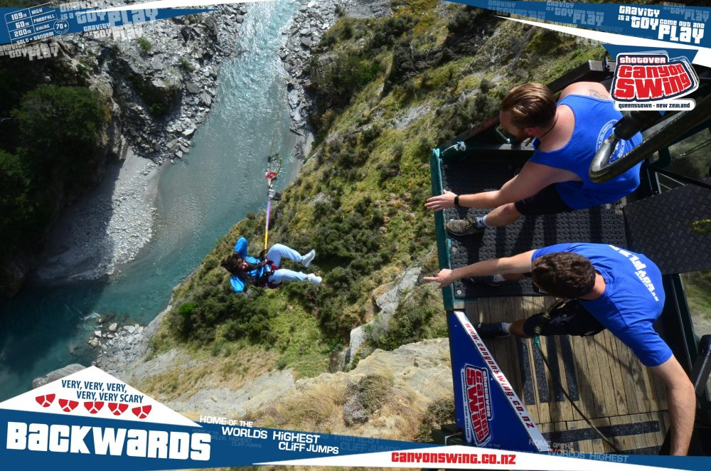 Worlds Highest Cliff Jump New Zealand NZ