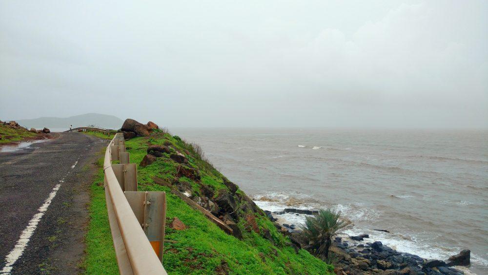 Coastal Drive Enroute Aravi