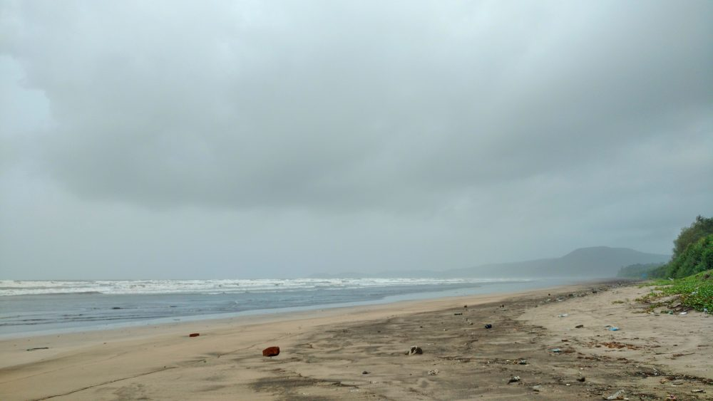 Diveagar Beach Please Don't Litter