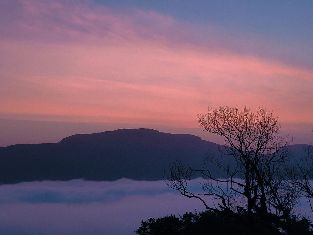 Mandalpatti Peak Sunrise Clouds