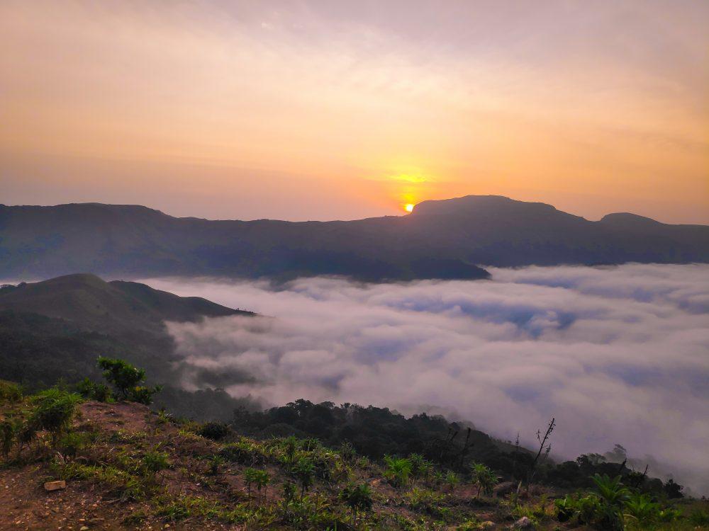 Mandalpatti Peak Viewpoint Clouds