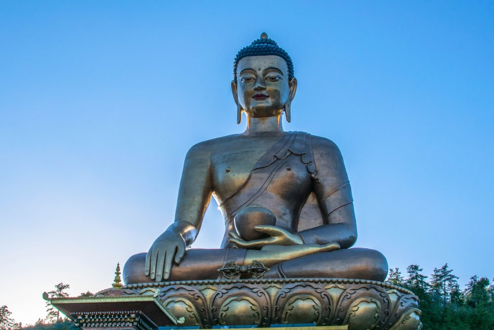 Buddha Dordenma Statue Bhutan