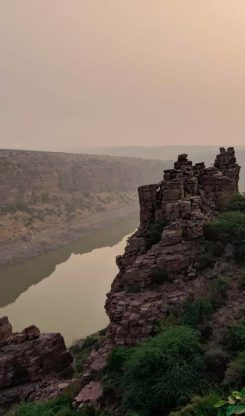 Gandikota Sunrise At Viewpoint