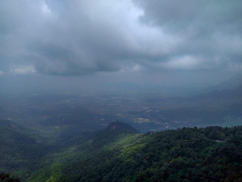 Kollimalai Hills Overlook