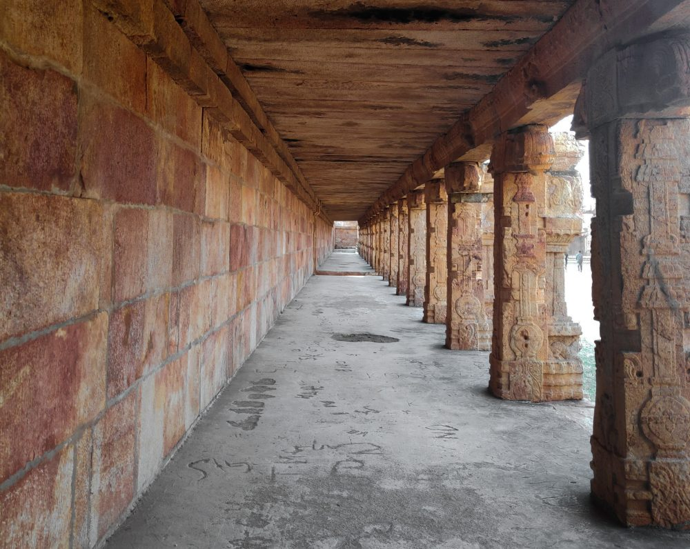 Madhavaraya Swamy Temple Gandikota Symmetrical Pillars
