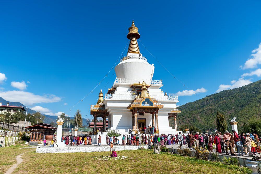 Memorial Chorten -  Thimphu - Bhutan