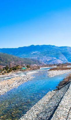 Paro Town In Bhutan