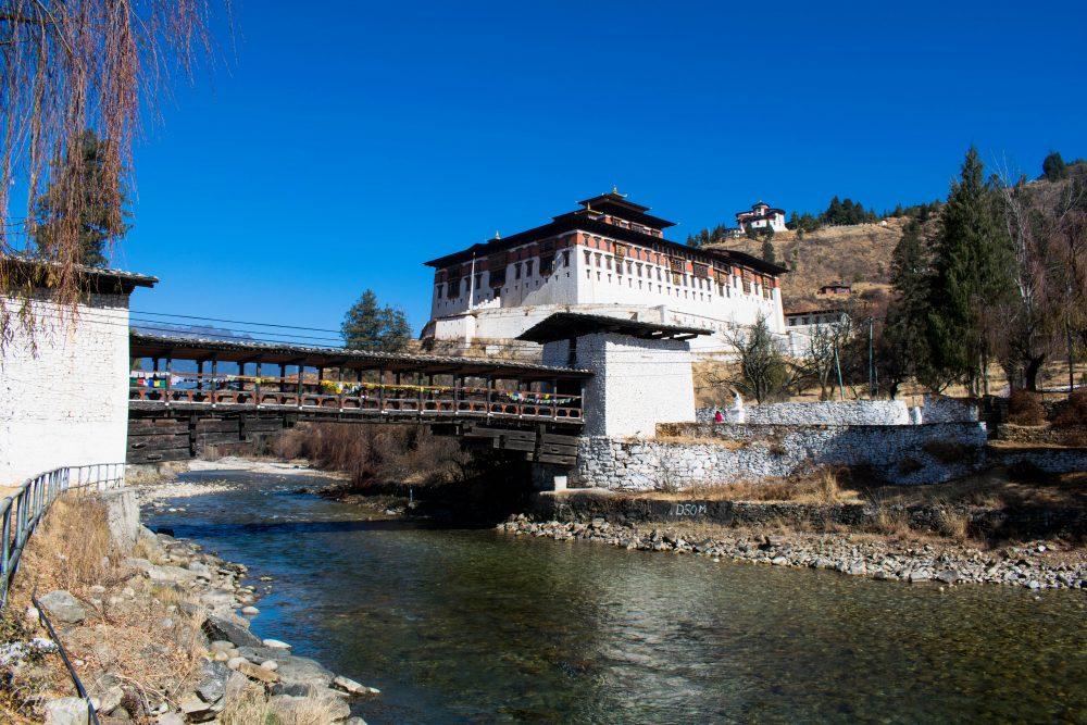 Rinpung Dzong Paro Fort Bhutan
